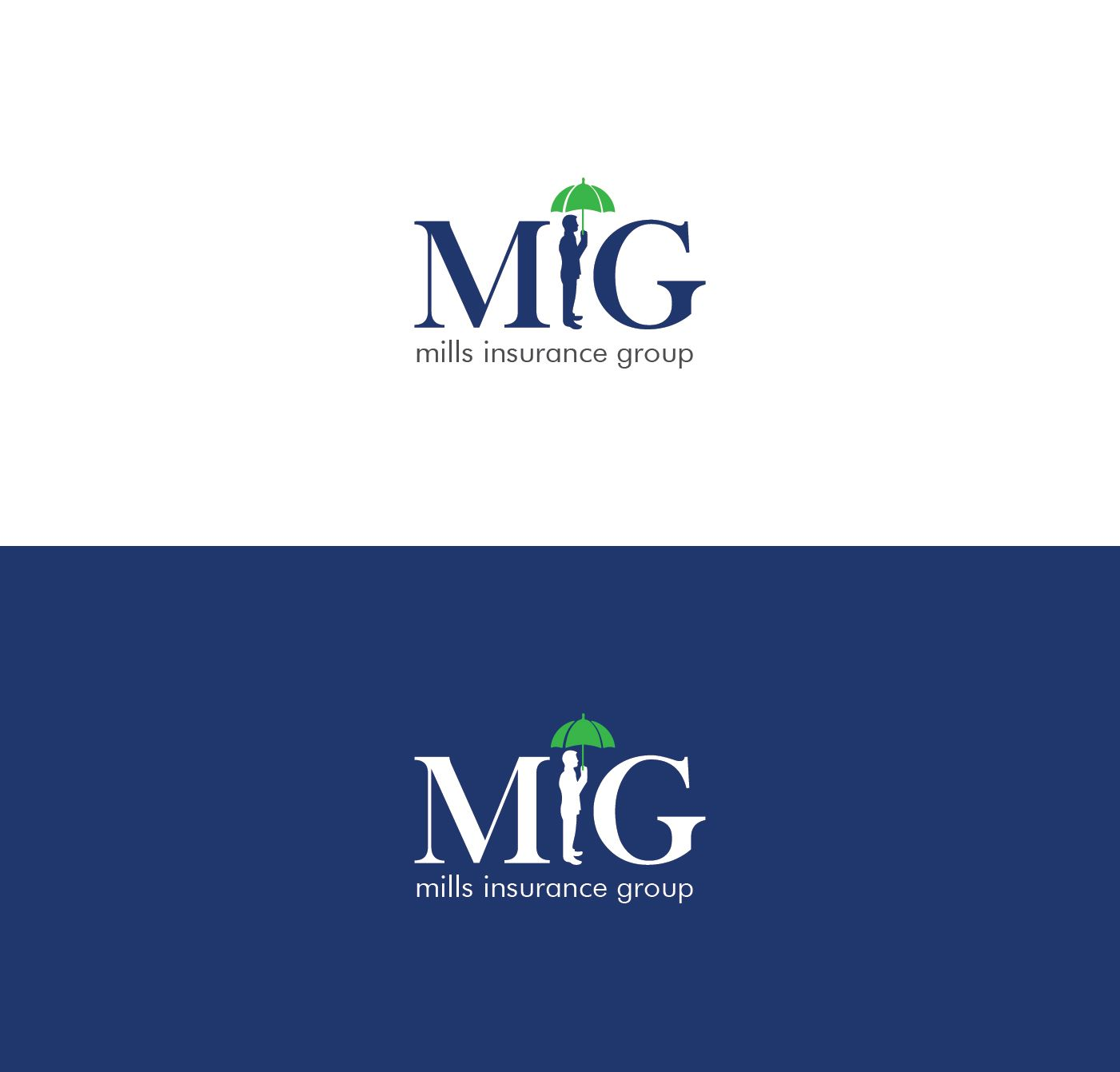 Mills Insurance Agency An Independent Insurance Professional Playful Logo Design By Black Graphic Graphic Design Logo Logos Insurance Agency