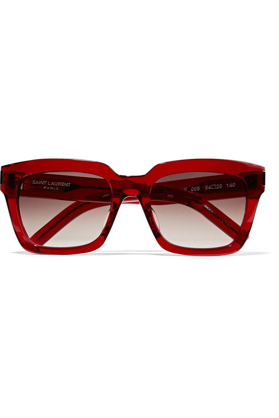 4a99276b1a4 Shop on-sale Saint Laurent Bold 1 f square-frame acetate sunglasses. Browse  other discount designer Bold 1 f square-frame acetate sunglasses   more on  The ...