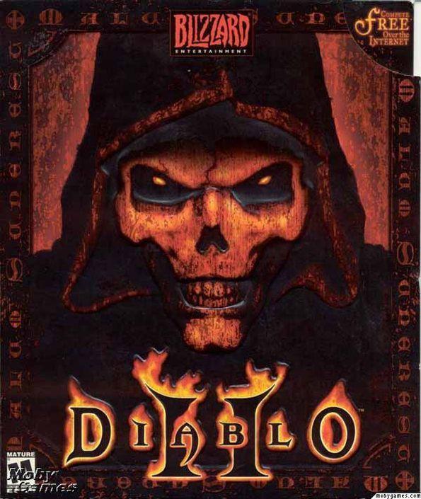 Brom - Diablo 2 Cover   AMAZEBALLS Concept Art   Vis Dev