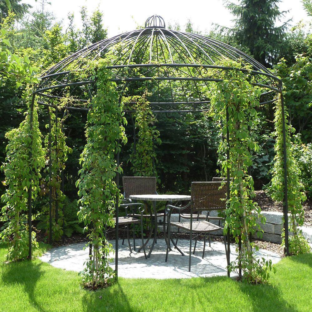 Eisenpavillon Gartenpavillon Rosenpavillon Metallpavillon Pavillon Eisen 360cm Ebay Rosenpavillon Garten Pavillon Gartendach