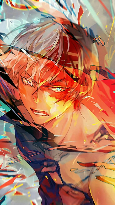 Shoto Todoroki My Hero Academia My hero, Anime, Hero