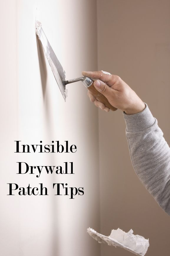 Invisible Diy Drywall Patching How To Patch Drywall Diy Home Repair Home Fix