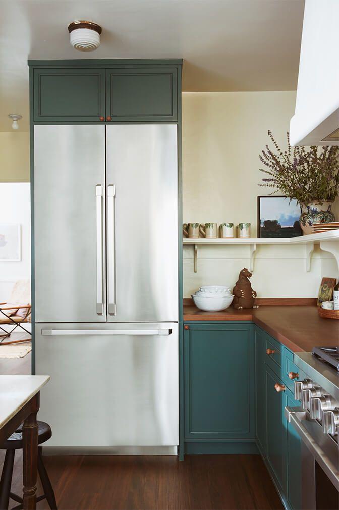 An interior designer   genius tips for  kitchen makeover goop also shotgun rh pinterest