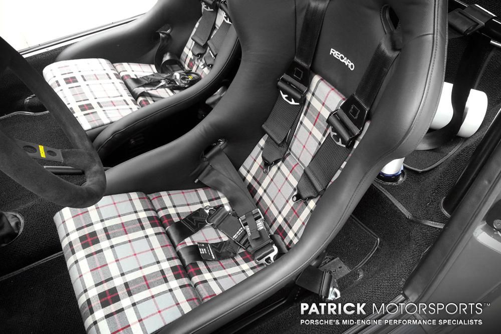 recaro seats with custom tartan wool by mark of patrick motorsports inside pinterest. Black Bedroom Furniture Sets. Home Design Ideas