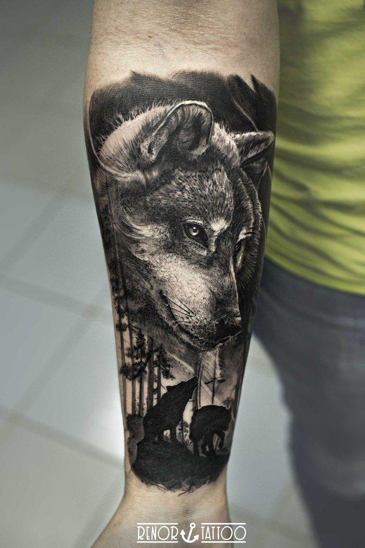 Pin de Mike horner en Wolves Pinterest Tatuajes, Lobos y Tatuaje