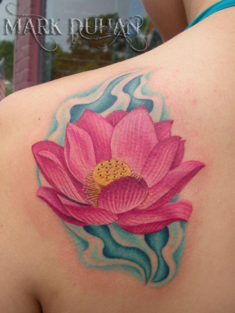 70 Elegant Lotus Tattoo Designs Captivating Pinterest Lotus