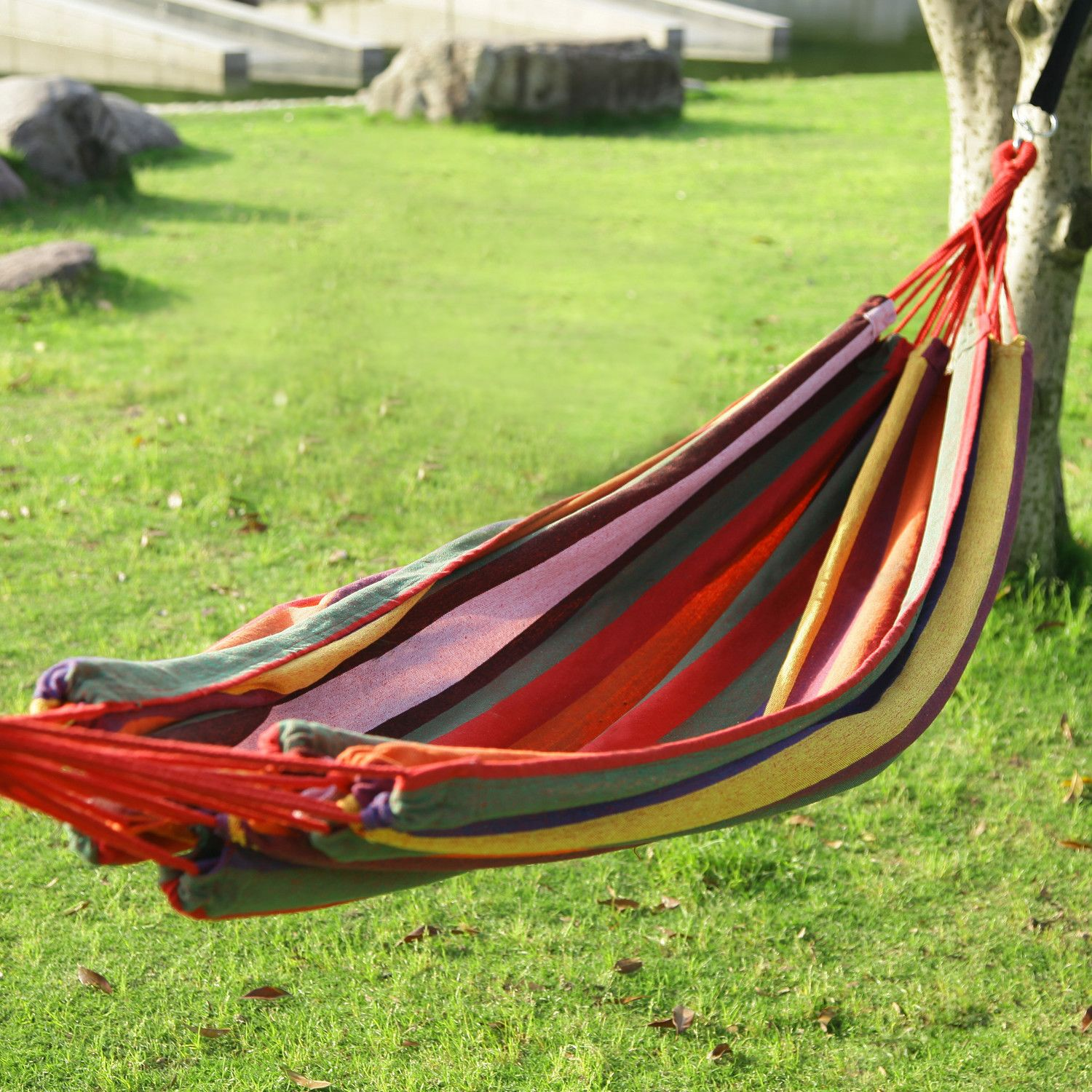 living frame bench swinging seater metal outsunny seat swing brown ca lounger with r buy hammock garden canopy outdoor chair and