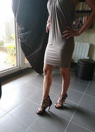 597c70b07ab2 Épinglé par blablacar sur Vide dressing anjela_luv via Vinted | Robe, Robe  argentée et Mode femme