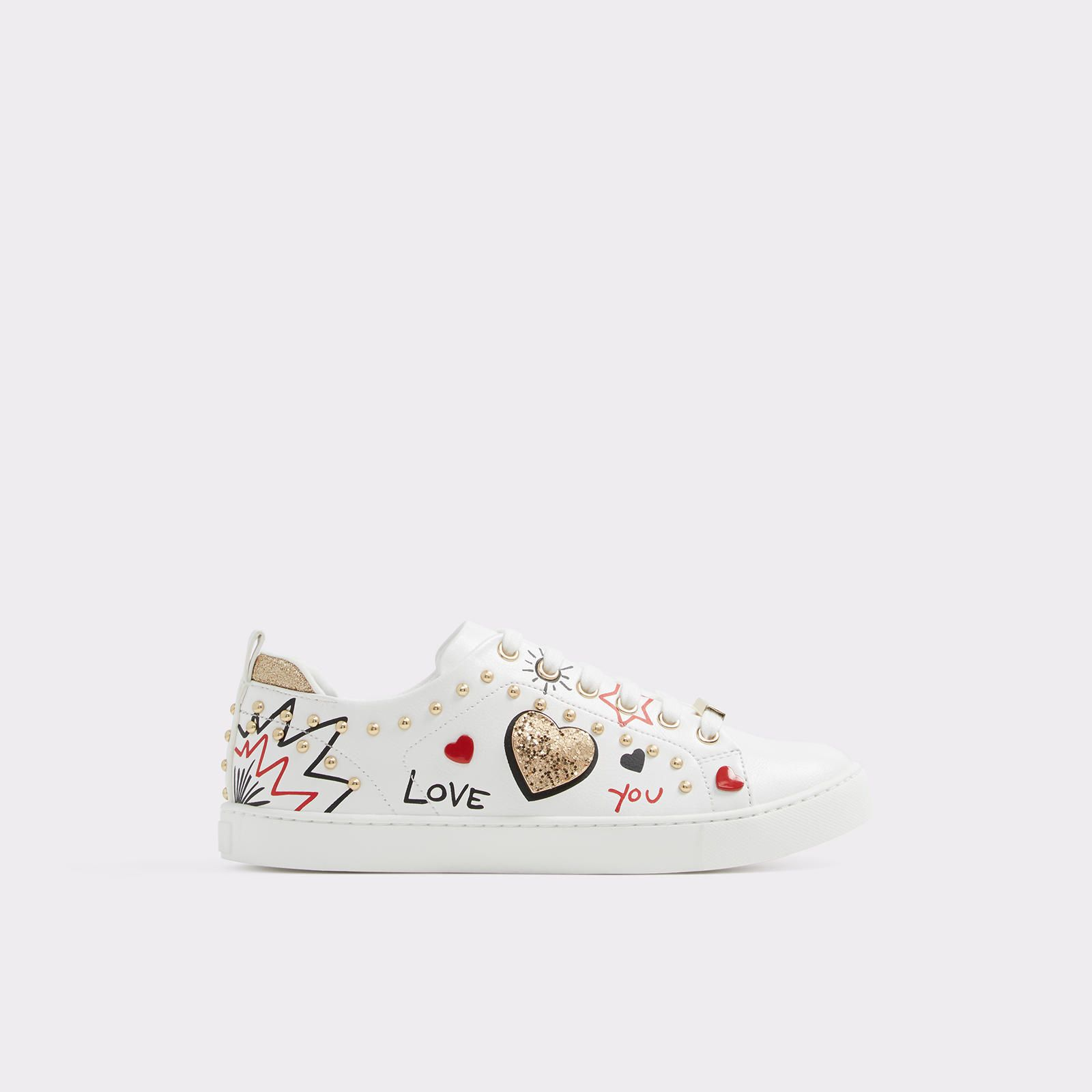 Sponaugle White By Aldo Shoes Main Aldo Shoes Women Leather Shoes Woman Womens Sneakers