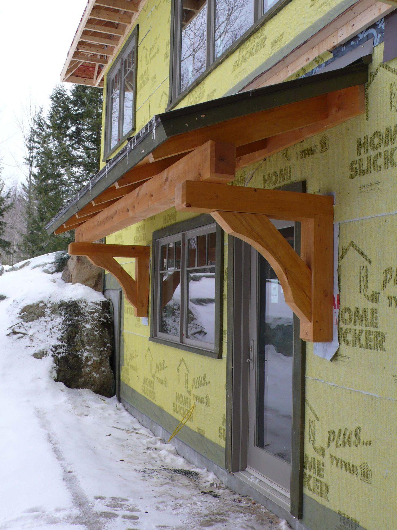 Pin By Johan Van Gysel On Pergola Door Overhang Awning Over Door House Exterior