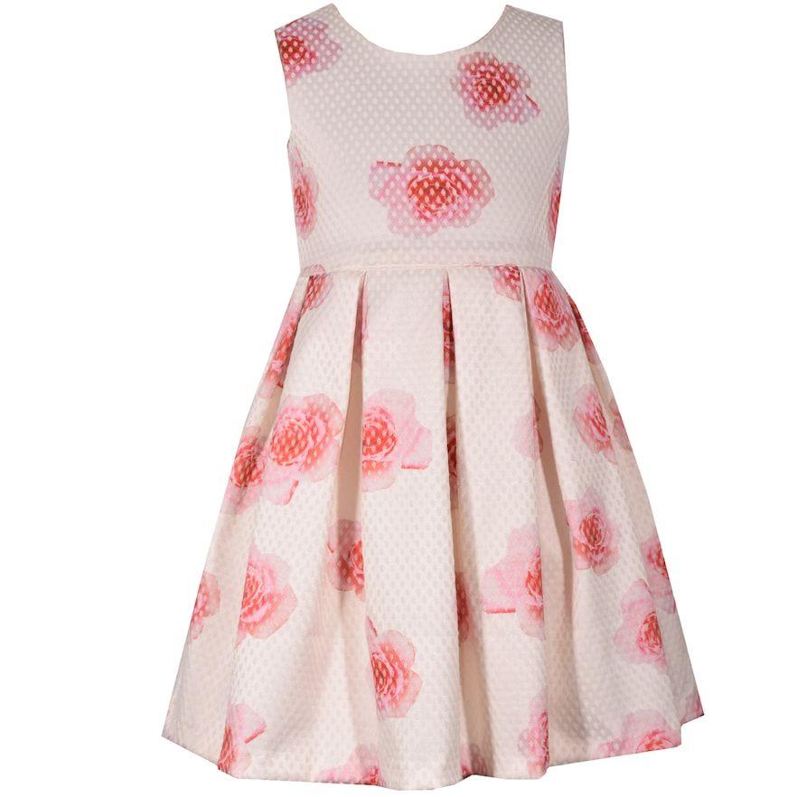 c516feeb505 Girls 7-16 Bonnie Jean Sleeveless Floral Dress