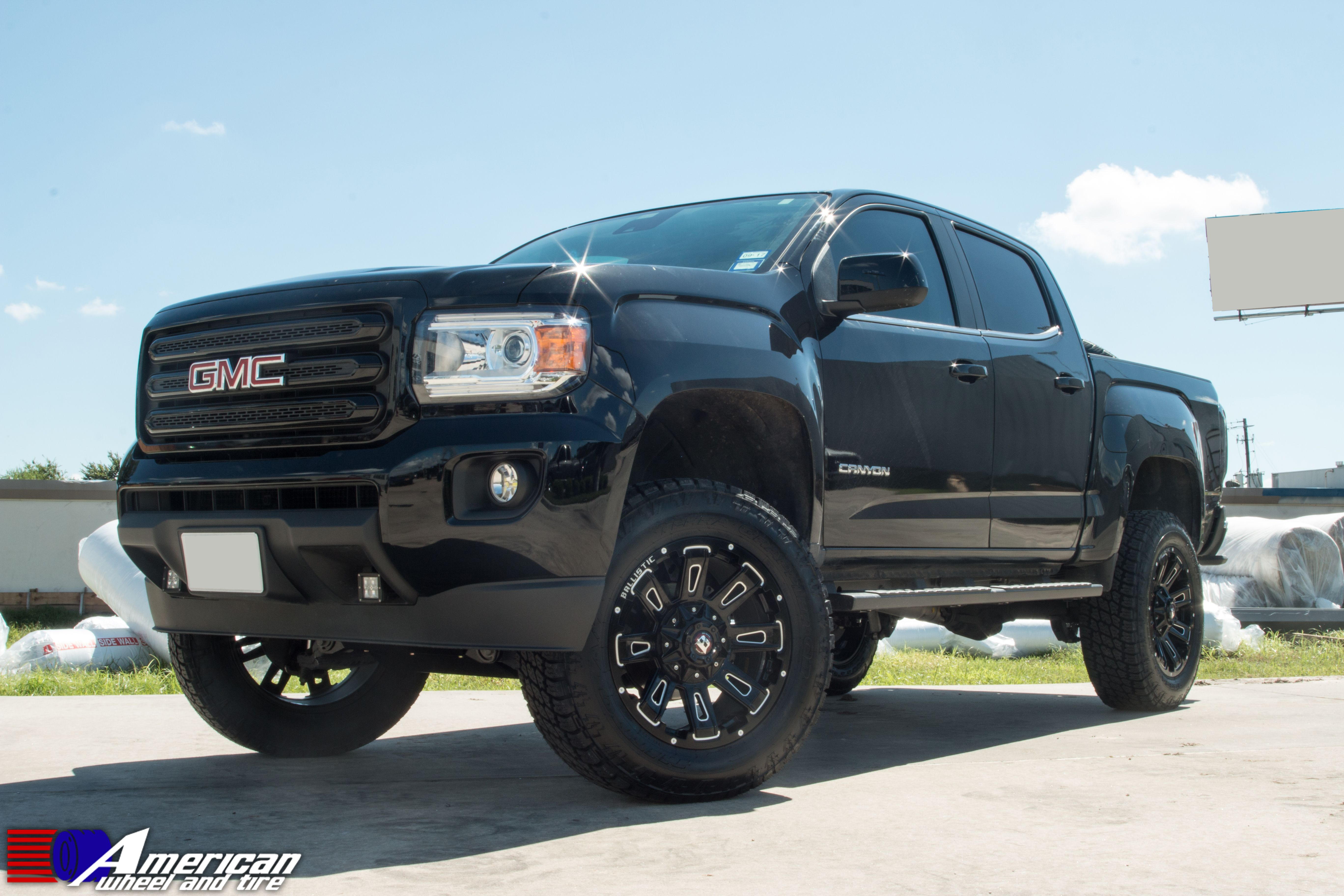 2015 Gmc Canyon Complete With 4 Lift Kit 20 Ballistic Wheels