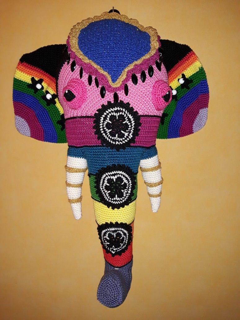 Olifantenkop Uit Simply Haken Eigen Creaties Pinterest Crochet
