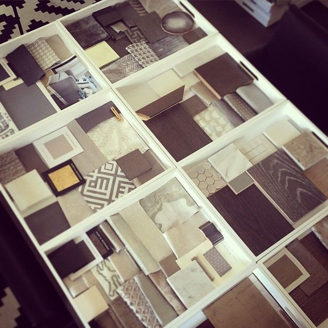 Fabrics In Trays With Images Interior Design Presentation
