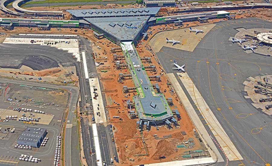 Newark Airport's Terminal 1 Starts Spreading Its Wings in