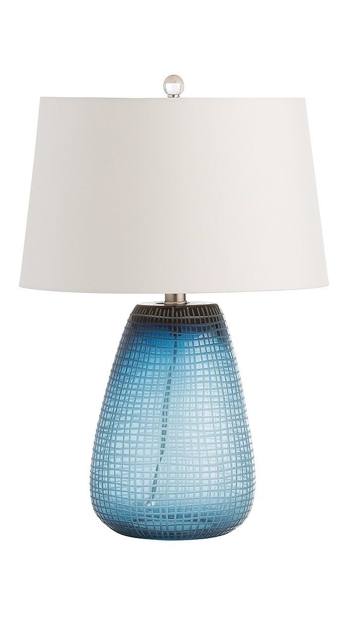 Instyle Decor Com Beverly Hills Trending Blue Table Lamps Hot In