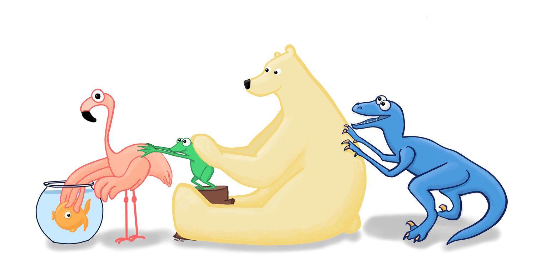 Vertebrates Animals With Backbones