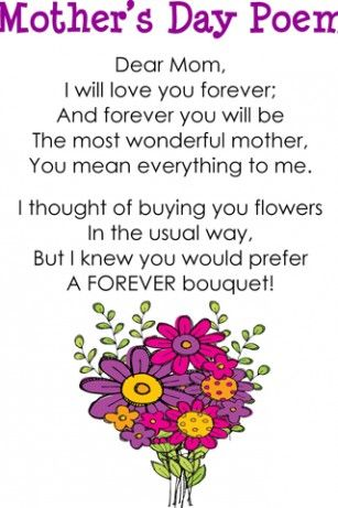 super cute saying that rhyme | Mothers Day Poems For Android ...