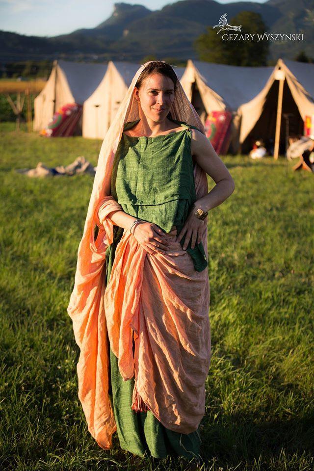 Roman Lady Roman Dress Roman Costume Roman Fashion