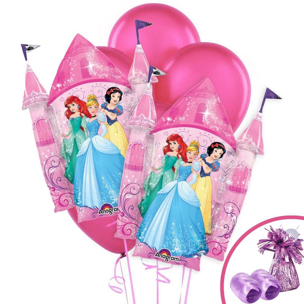 Awesome Birthday Party Same Day Shipping Disney Princesses Cake Foil Birthday Cards Printable Nowaargucafe Filternl