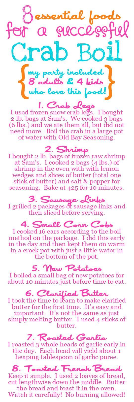 host a backyard seafood boil in a few easy steps via lauren kelp