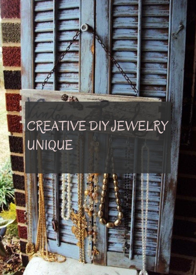 Creative diy jewelry unique