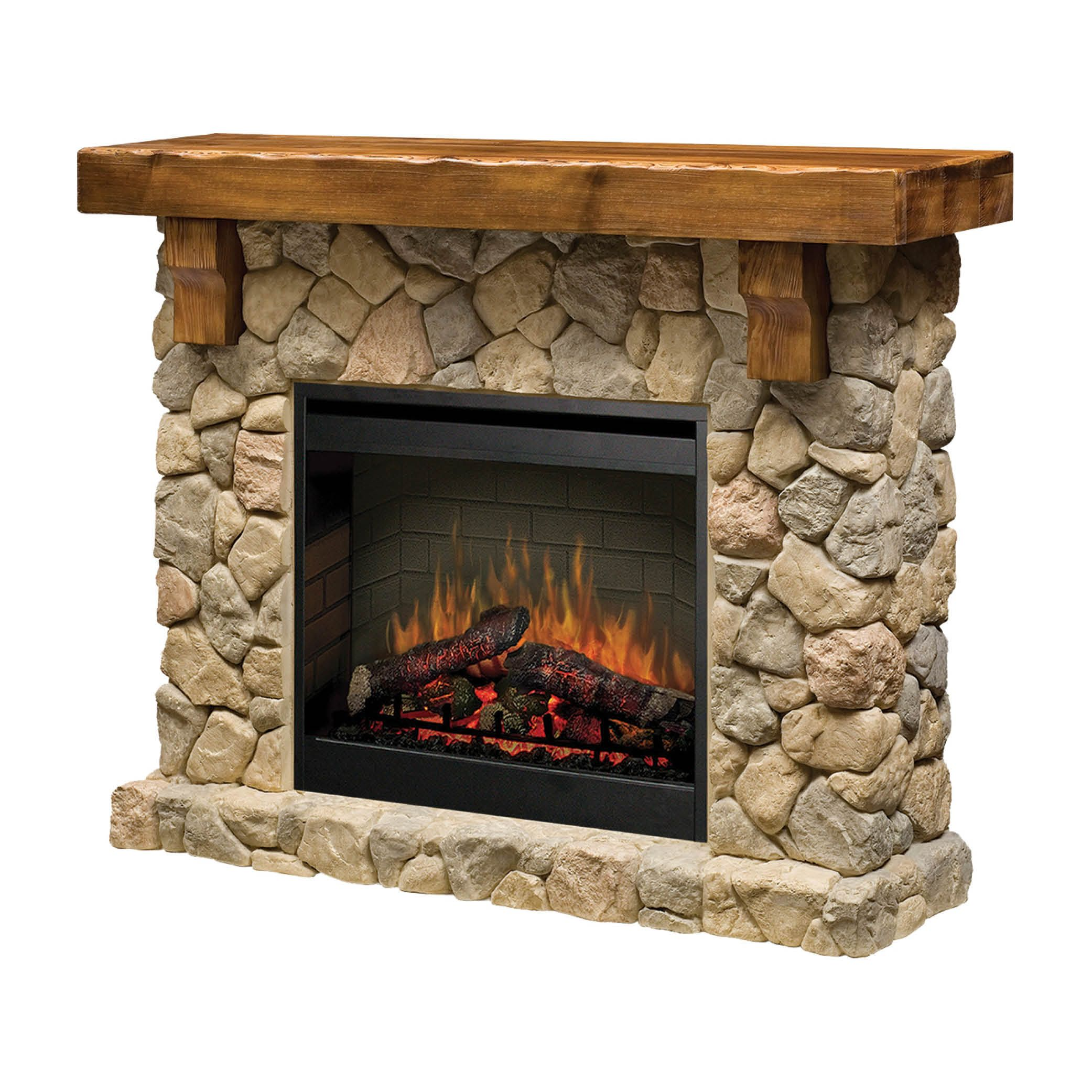 the fieldstone fireplace mantel suite features the patented