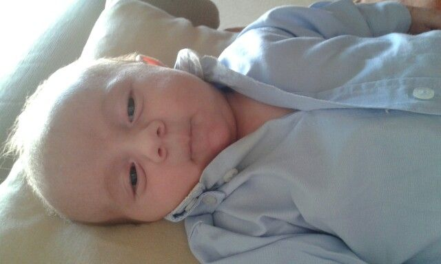 Segundo mês de bebé Guilherme.