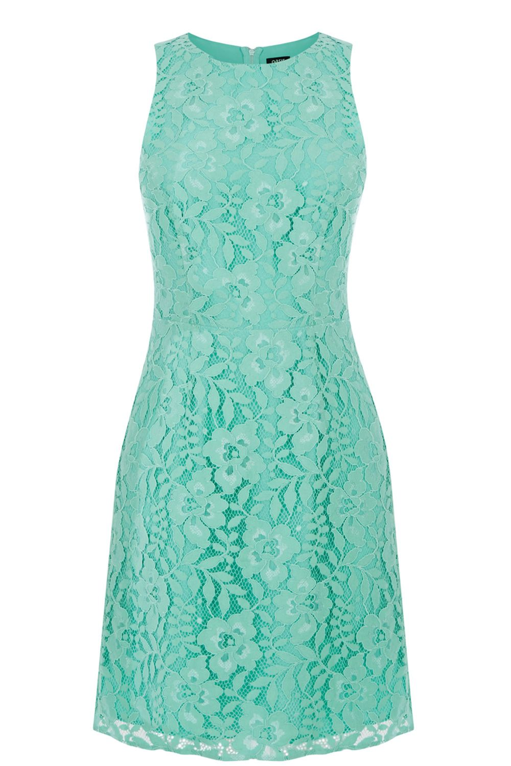 Green Sienna Lace Dress | Oasis | Ideas for the House | Pinterest