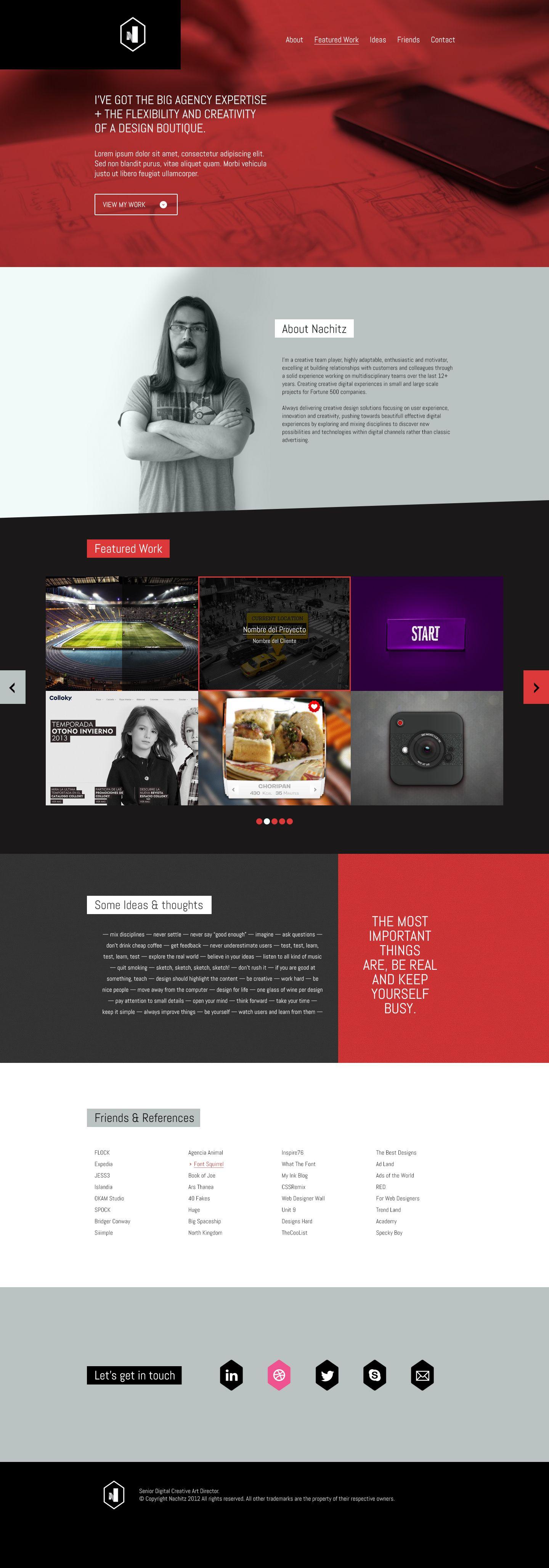 Portfolio | weeeb | Pinterest | Curriculums originales, Currículum y ...