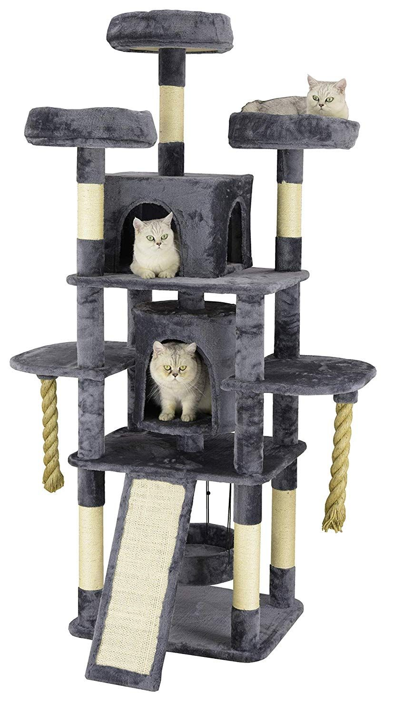 Amazon Com Go Pet Club 70 Jungle Rope Cat Tree Pet Supplies