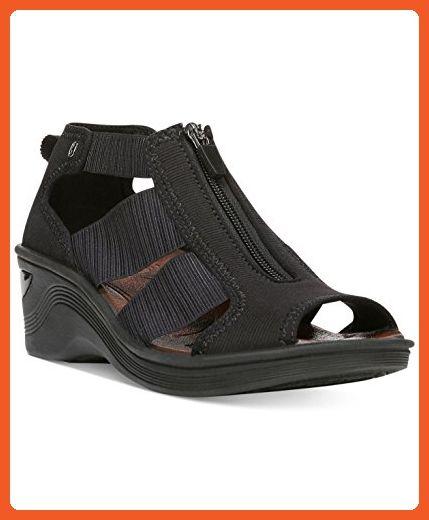 2b8e29a4e0 BZees Duet Women US 8 Black Wedge Sandal - Sandals for women ( Amazon  Partner-Link)