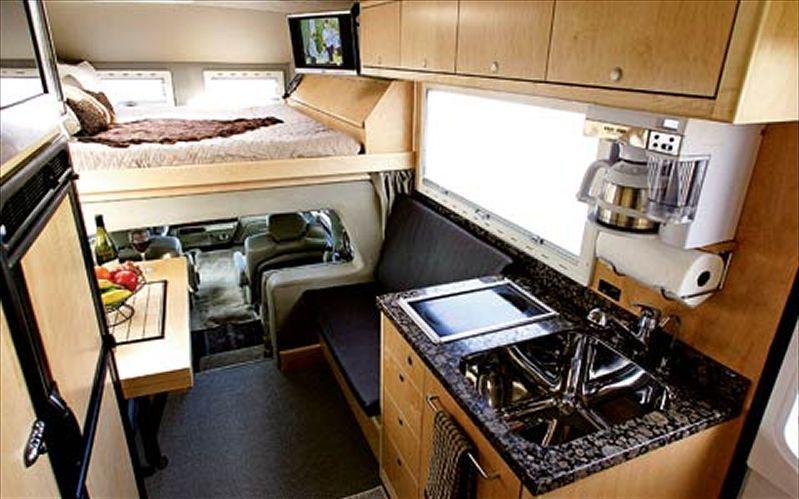 Earthroamer Interior Sleeper Cab Interior Idea 39 S Board For My Projects Pinterest Truck