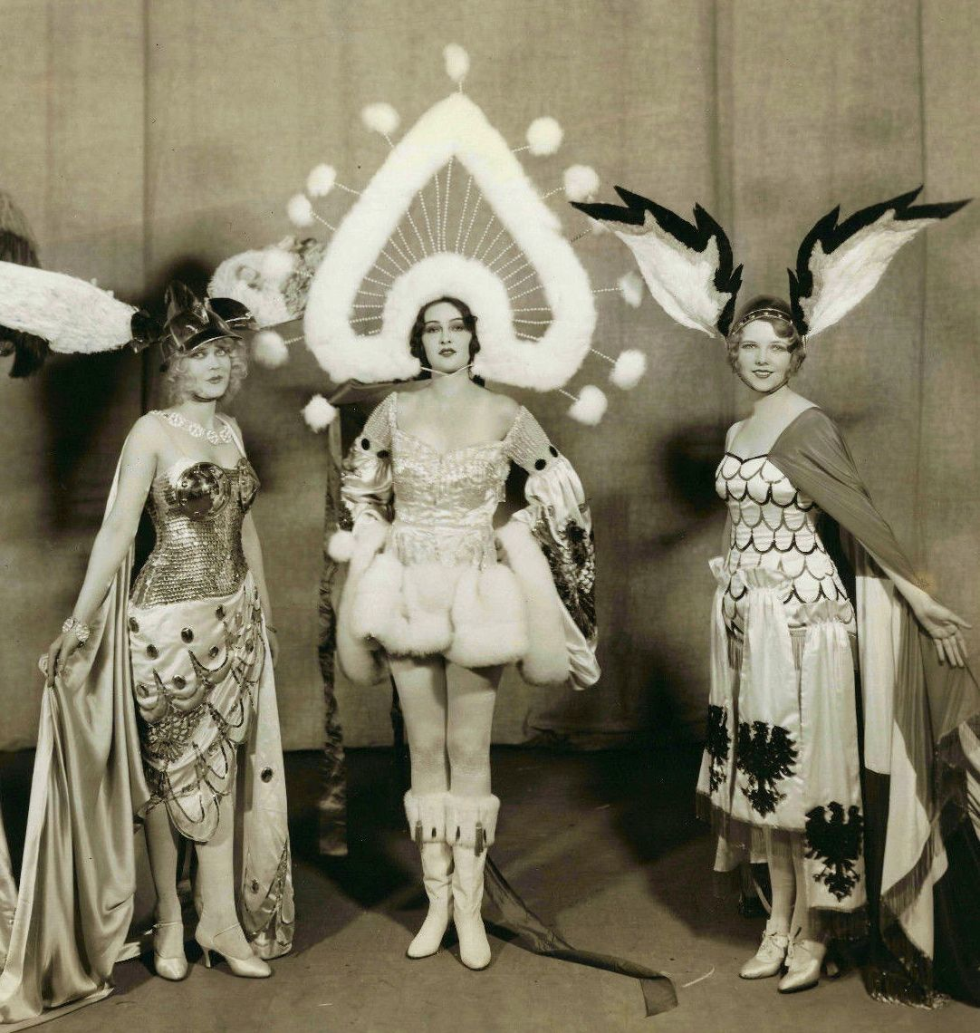 Three Showgirls from The George White Scandals c.1928