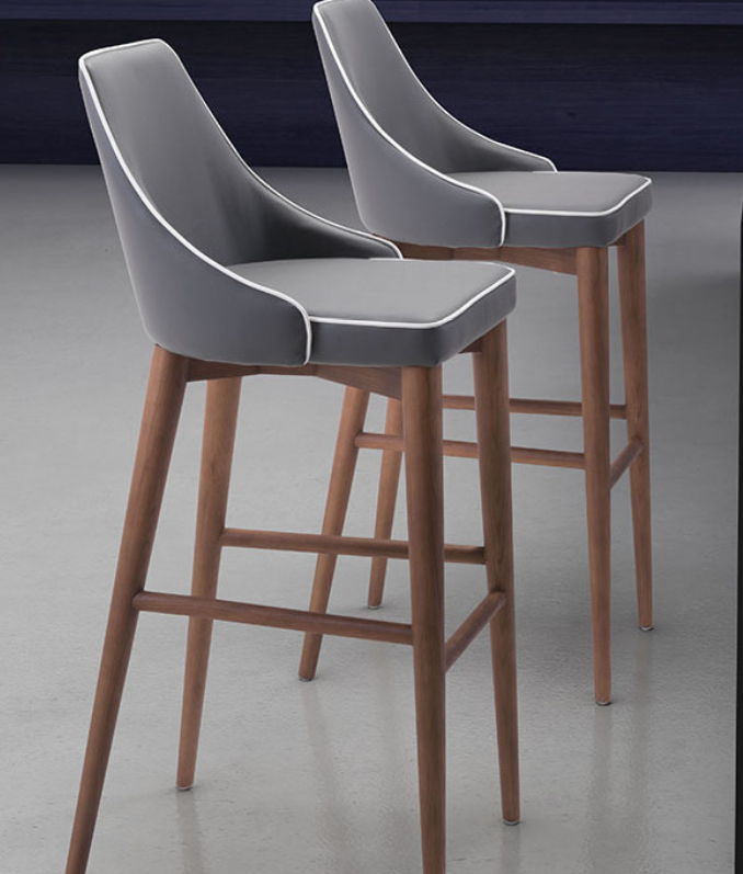 Phenomenal 7 Mid Century Modern Bar Stools For Your Home Things For Squirreltailoven Fun Painted Chair Ideas Images Squirreltailovenorg