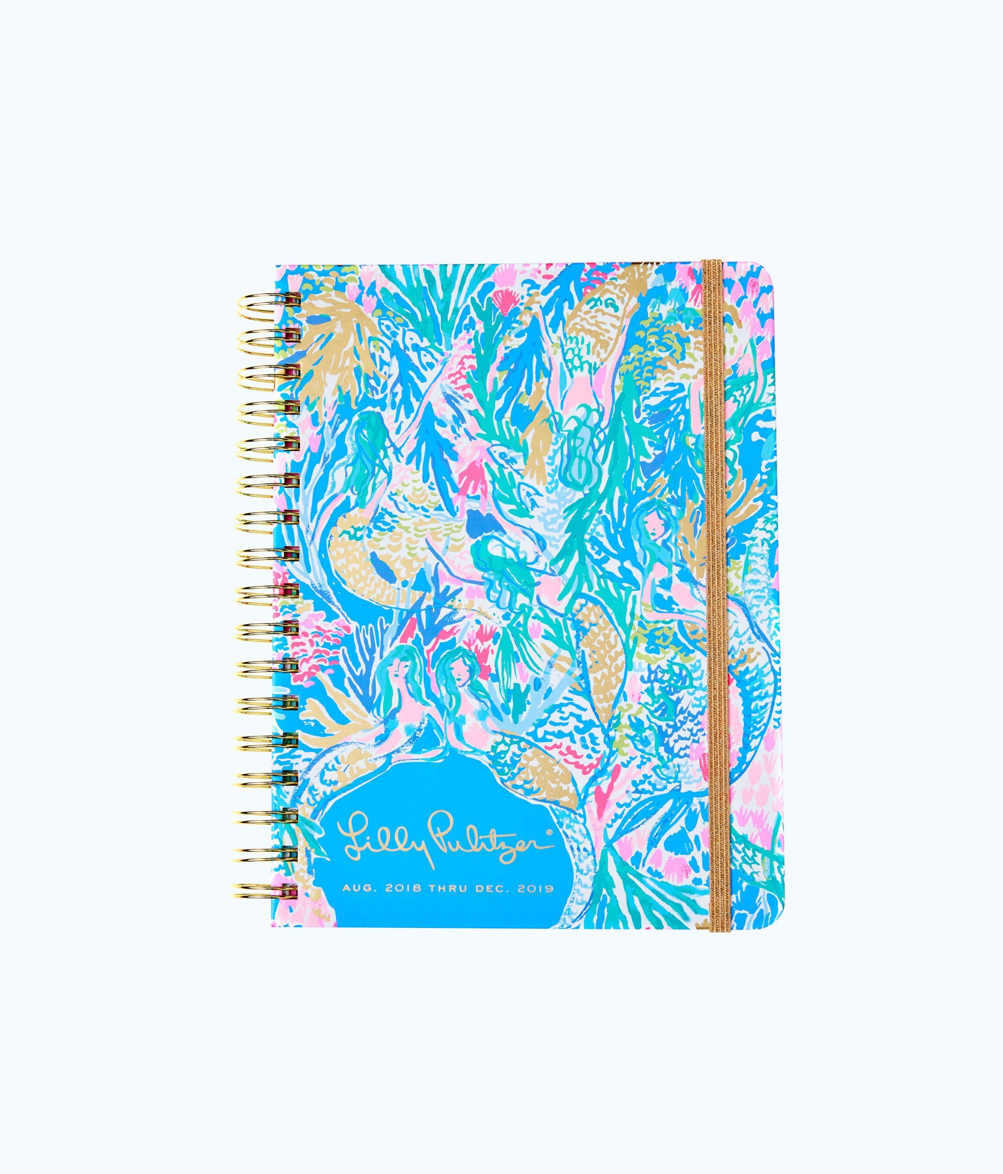 70427c4233f6c5 Lilly Pulitzer 2018 - 2019 17 Month Monthly Planner - Multi Mermaids Cove