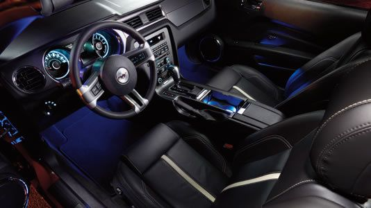 Ford Mustang Ambient Lighting Interior