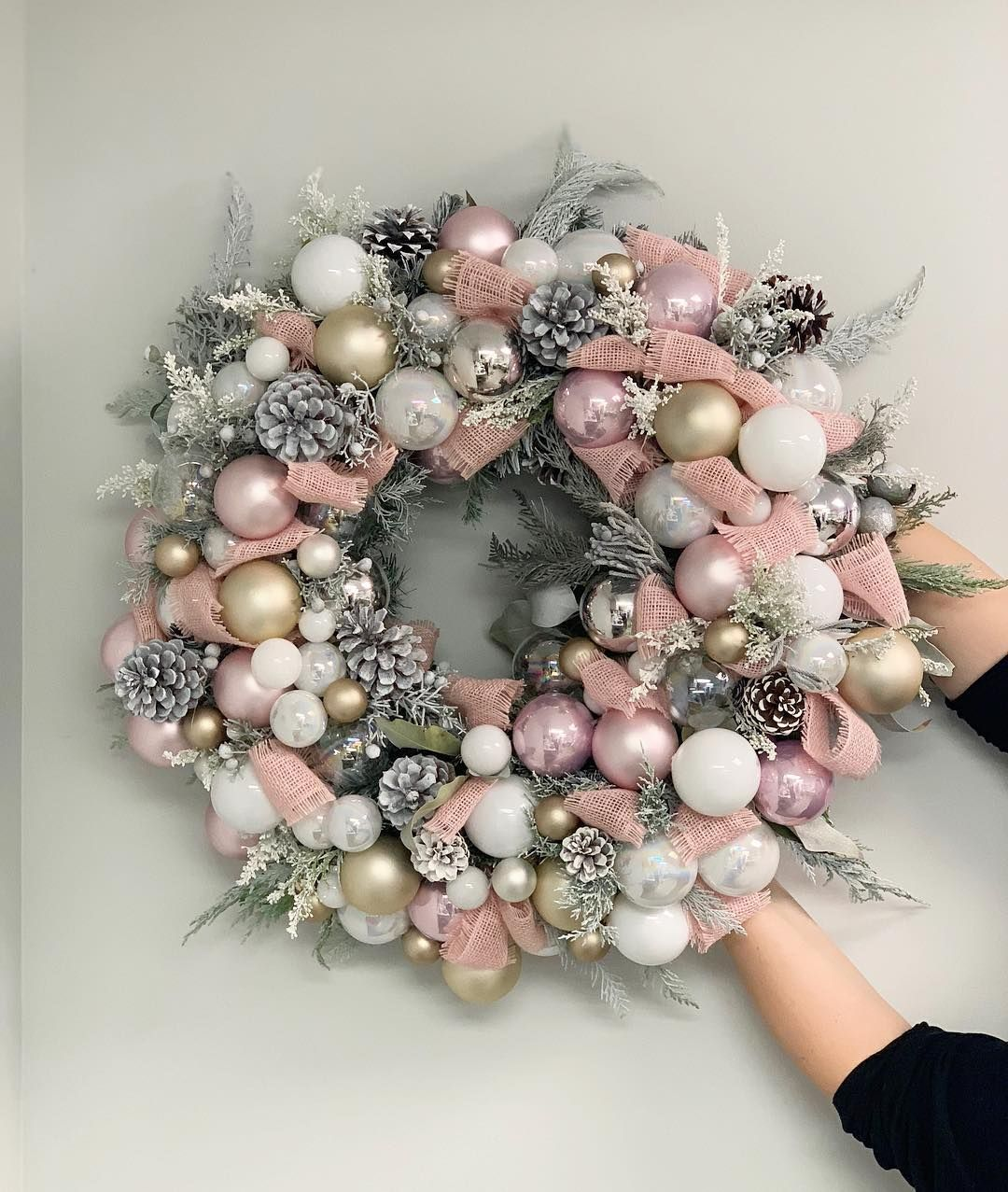 "Photo of J'Adore Les Fleurs JLF on Instagram: ""In the days leading up to #Christmas, let's countdown with JLF Wreaths 😍Call any of our locations to customize yours💓"""