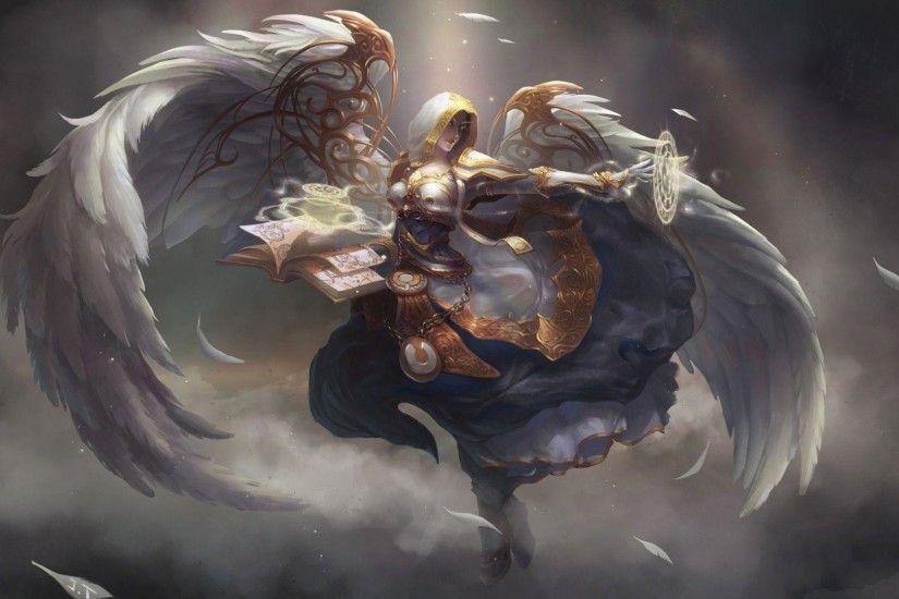 Angel Priest World Of Warcraft Wallpaper World Of Warcraft Wallpaper Warcraft Art Angel Wallpaper World of warcraft priest wallpaper