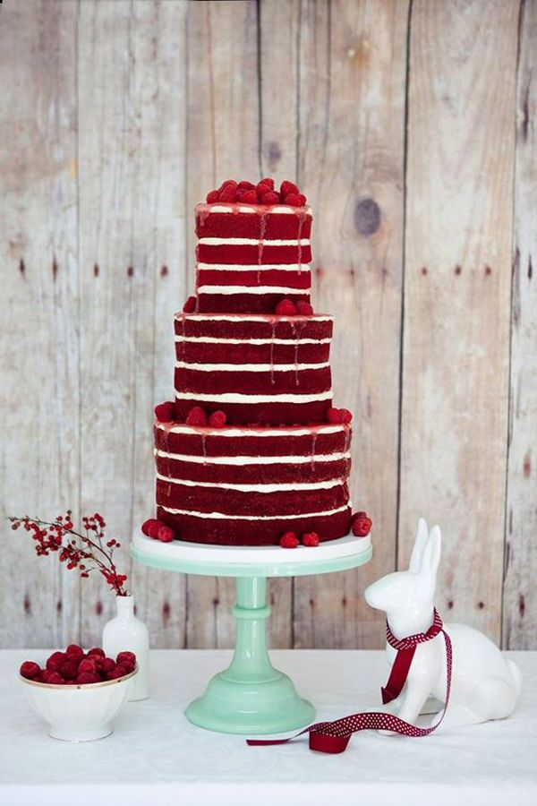 Incredibly Awesome Wedding Cakes You Would Want To Frame Than Cut Red Velvet