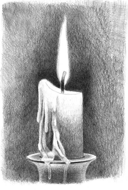 Want to learn how to easily draw a candle and flames improve your knowledge on · easy pencil drawingseasy charcoal drawingsdrawing techniques