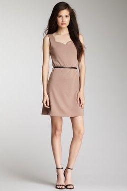 Shaken Not Stirred Scallop Dress