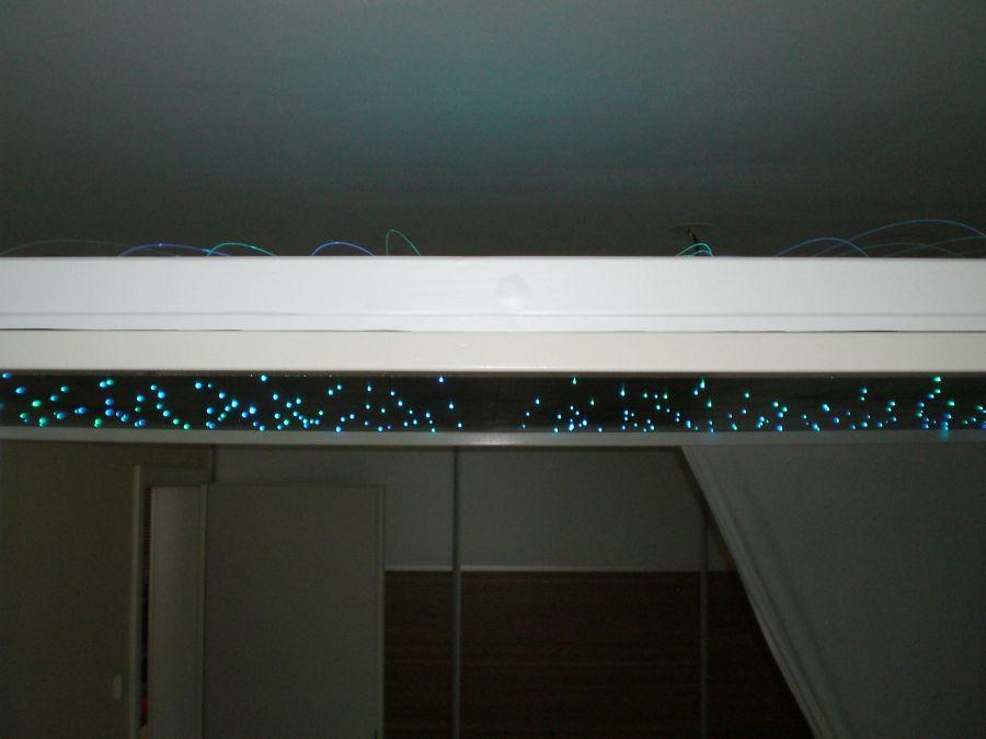Bauanleitung LED-Sternenhimmel Pinterest - sternenhimmel für badezimmer