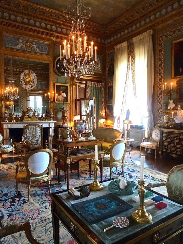 Jacques Garcia S Champ De Bataille French House French Interior