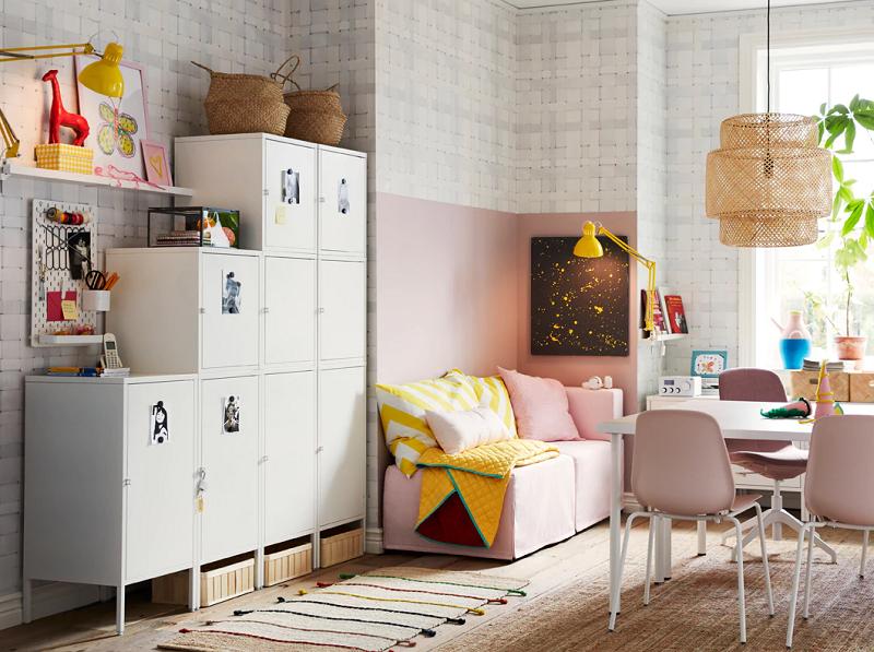Sebuah loker untuk semua anggota keluarga Galeri IKEA