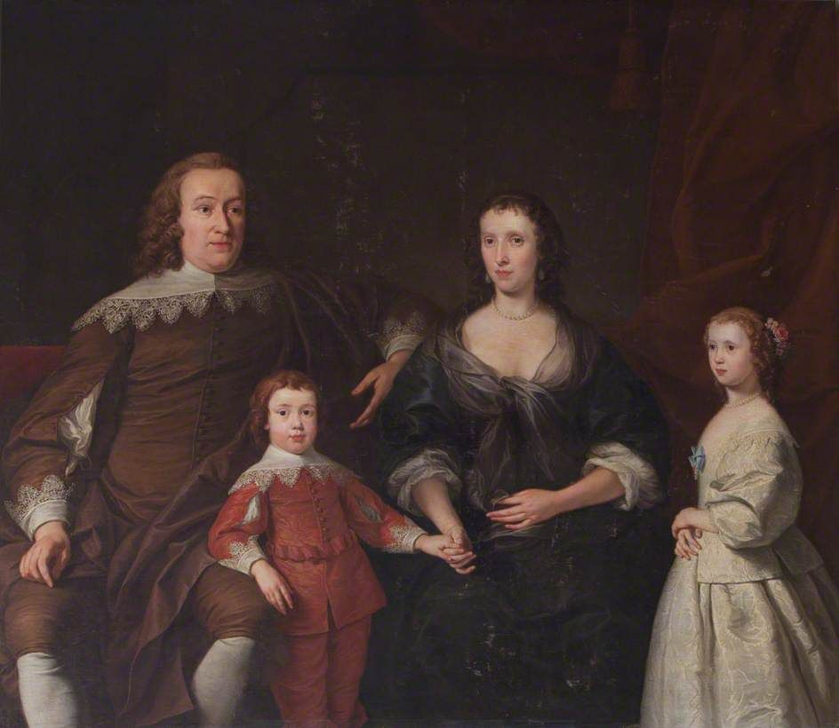 The Earl and Countess of Huntingdon and their Two Children, Selina and Henry