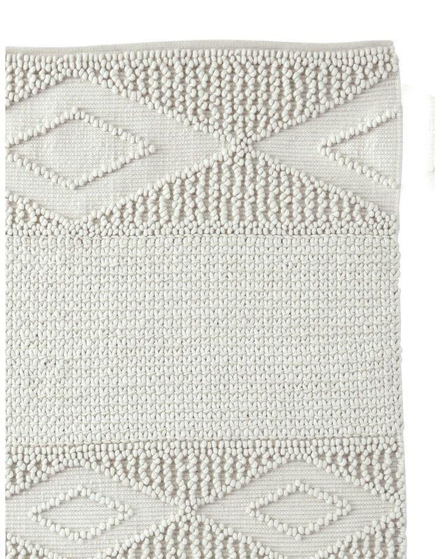 Cosy Textured Wool Rug: Macramé Wool Rug - Serena & Lily Site
