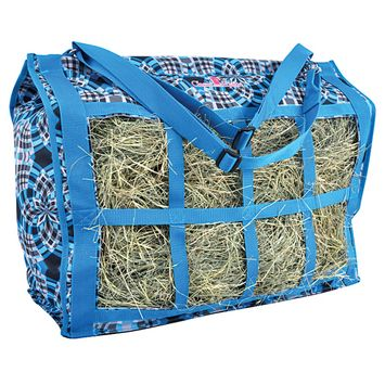 d7e9ceac4dd Classic Equine Deluxe Top Load Hay Bag Plaid | So you wanna buy me a ...