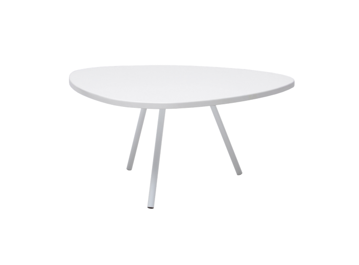 Table Basse Hauteur 28cm Blanc Mat Fly Bureau Table