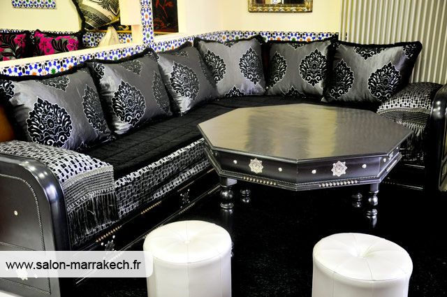 salon marocain arabesque pinterest moroccan salons and oriental decor. Black Bedroom Furniture Sets. Home Design Ideas